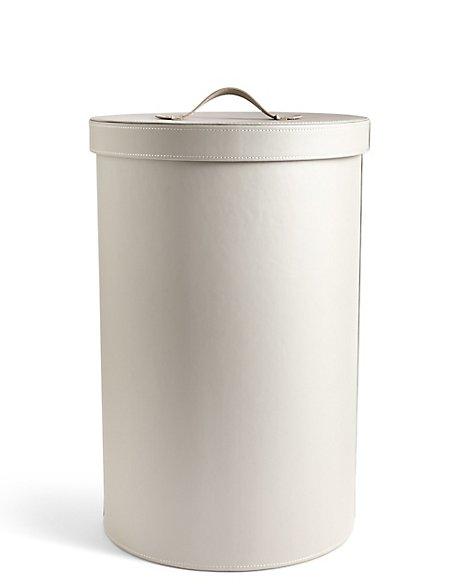 Round Laundry Bin