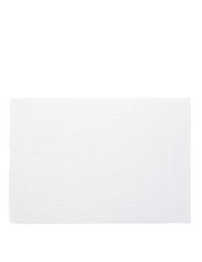Lightweight Cotton Bath Mat