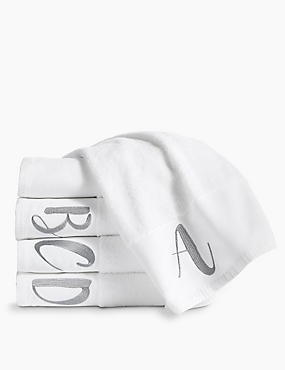Alphabet Towel