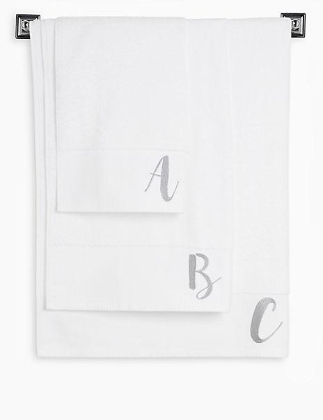 Alphabet Towel
