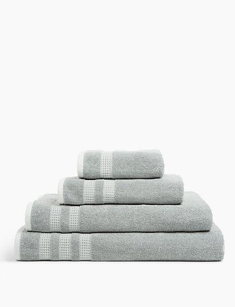Cotton Waffle Spa Towel