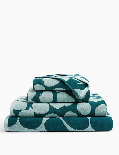 Cotton Painted Spot Towel