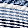 Striped Spa Towel, NAVY, swatch