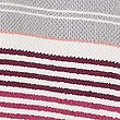 Striped Spa Towel, DARK CRIMSON, swatch