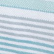 Striped Spa Towel, LIGHT DUCK EGG, swatch