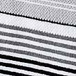 Striped Spa Towel, BLACK, swatch