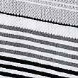 Striped Spa Towel, BLACK, swatch