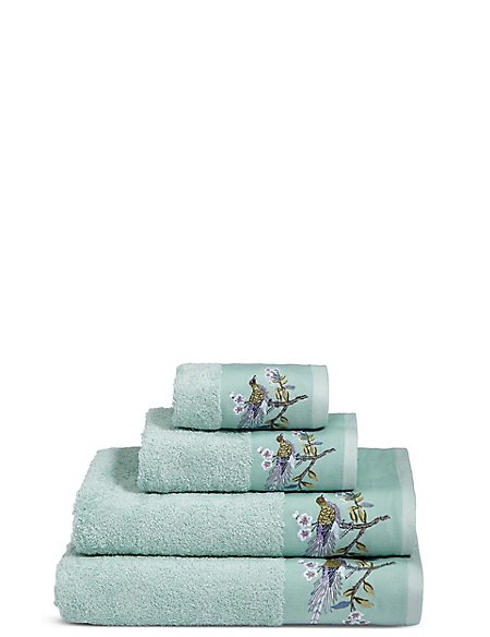 Ophelia Embroidered Towel
