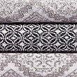 Handtuch mit buntem Kachelmuster, GRAU MELANGE, swatch