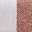 Wide Striped Towel, TERRACOTTA, swatch