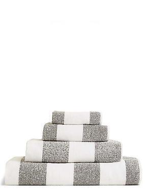 Wide Striped Towel
