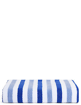 Lightweight Striped Towel