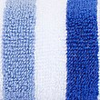 Lightweight Striped Towel, BLUE MIX, swatch