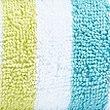 Lightweight Striped Towel, GREEN MIX, swatch