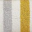 Lightweight Striped Towel, OCHRE, swatch