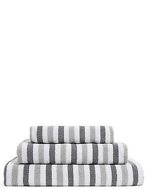 Lightweight Striped Towel