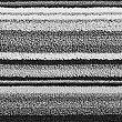 Handtuch mit dünnen Streifen, SCHWARZ MELANGE, swatch
