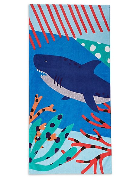 Shark Kids Beach Towel