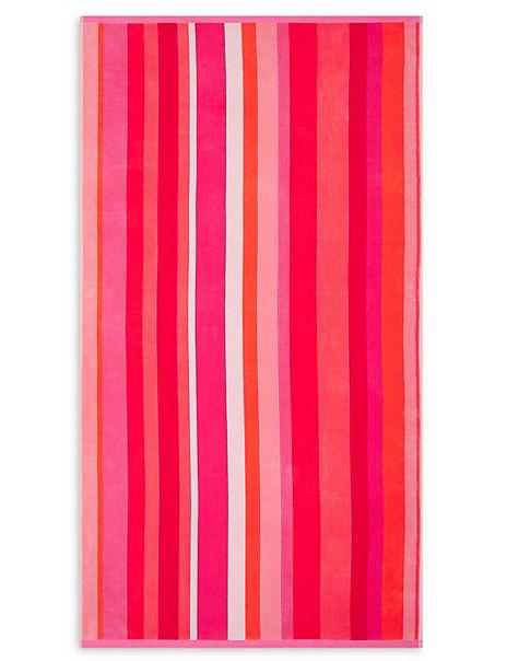 Striped Sand Resist Beach Towel
