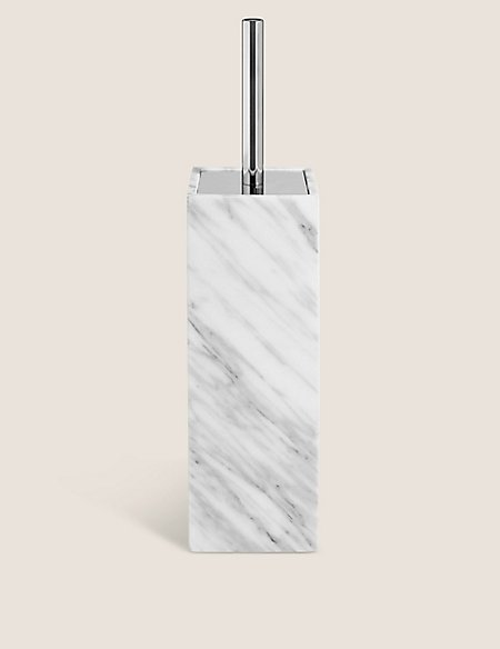 Marble Toilet Brush Holders