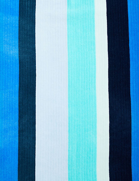 Multi Stripe Sand Resist Beach Towel