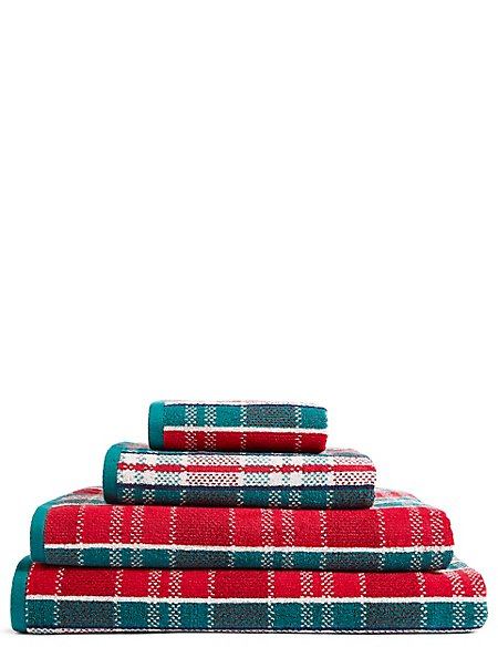 Tartan Towel