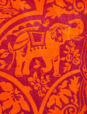 Elephant Print Beach Towel