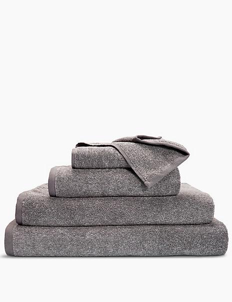 Cotton Block Marl Towel