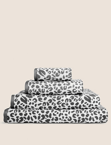 Leopard Design Cotton Towel