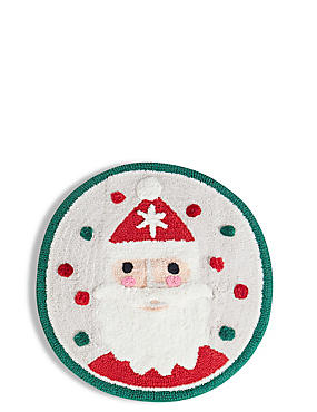 Christmas Santa Bath Mat