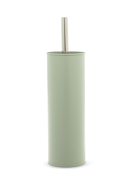 Contemporary Bullet Toilet Brush Holder