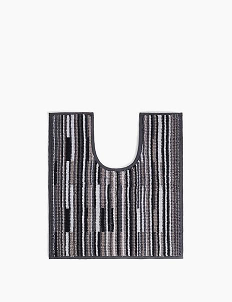 Skinny Stripe Pedestal Mat