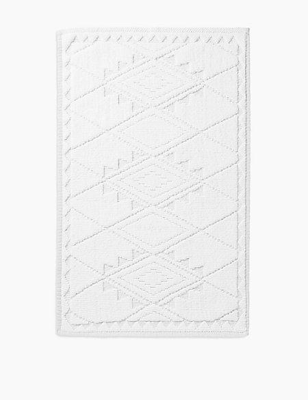 Aztec Print Bath Mat