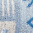 Abstract Geometric Towel with StayNEW™ , BLUE, swatch