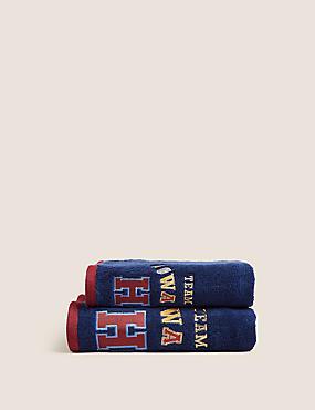 Handtuch aus reiner Baumwolle mit Harry Potter™-Motiv