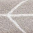 Handtuch mit modernem geometrischen Print, MILCHKAFFEE, swatch