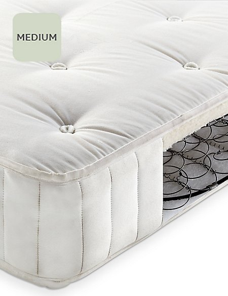Natural 325 Cotton Open Coil Mattress