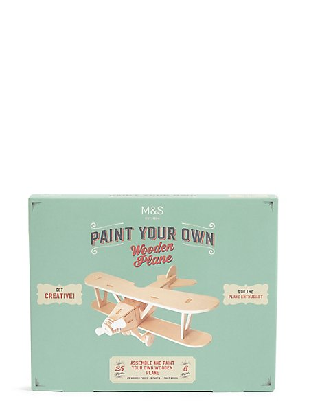 Paint your Own Wooden Plane