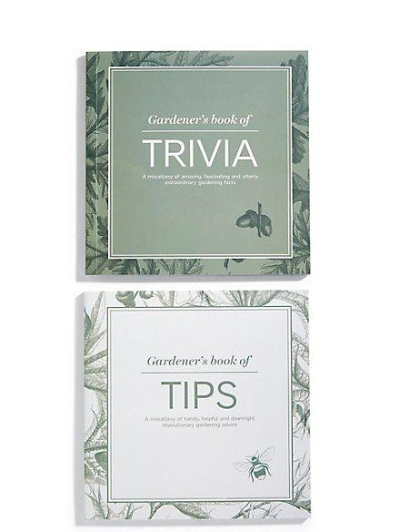 Gardener\'s Tips & Trivia Book Set | M&S
