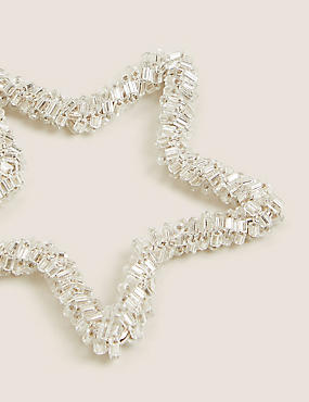 6 Pack Wire Star & Tree Outline Decorations