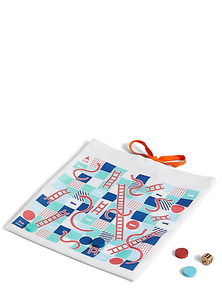Travel Snakes & Ladders Game