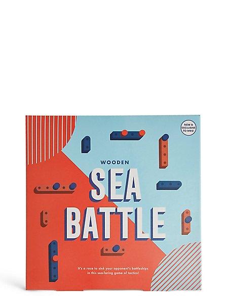 Wooden Sea Battle Game