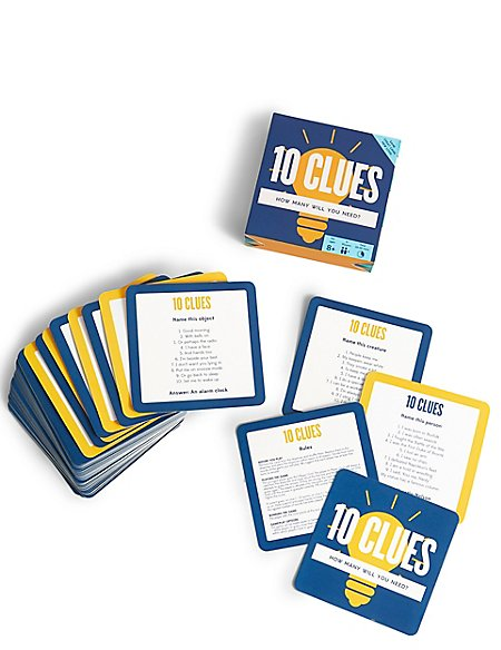 10 Clues Card Games