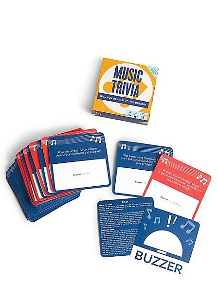 Music Trivia Card Game