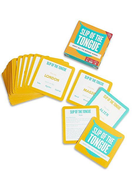 Slip of the Tongue Card Game