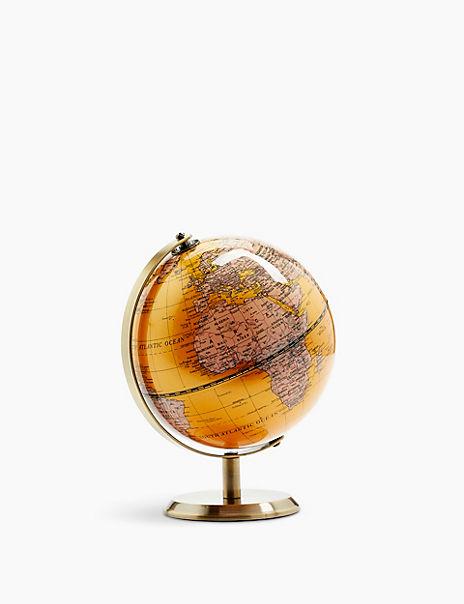 Ochre Mini Globe