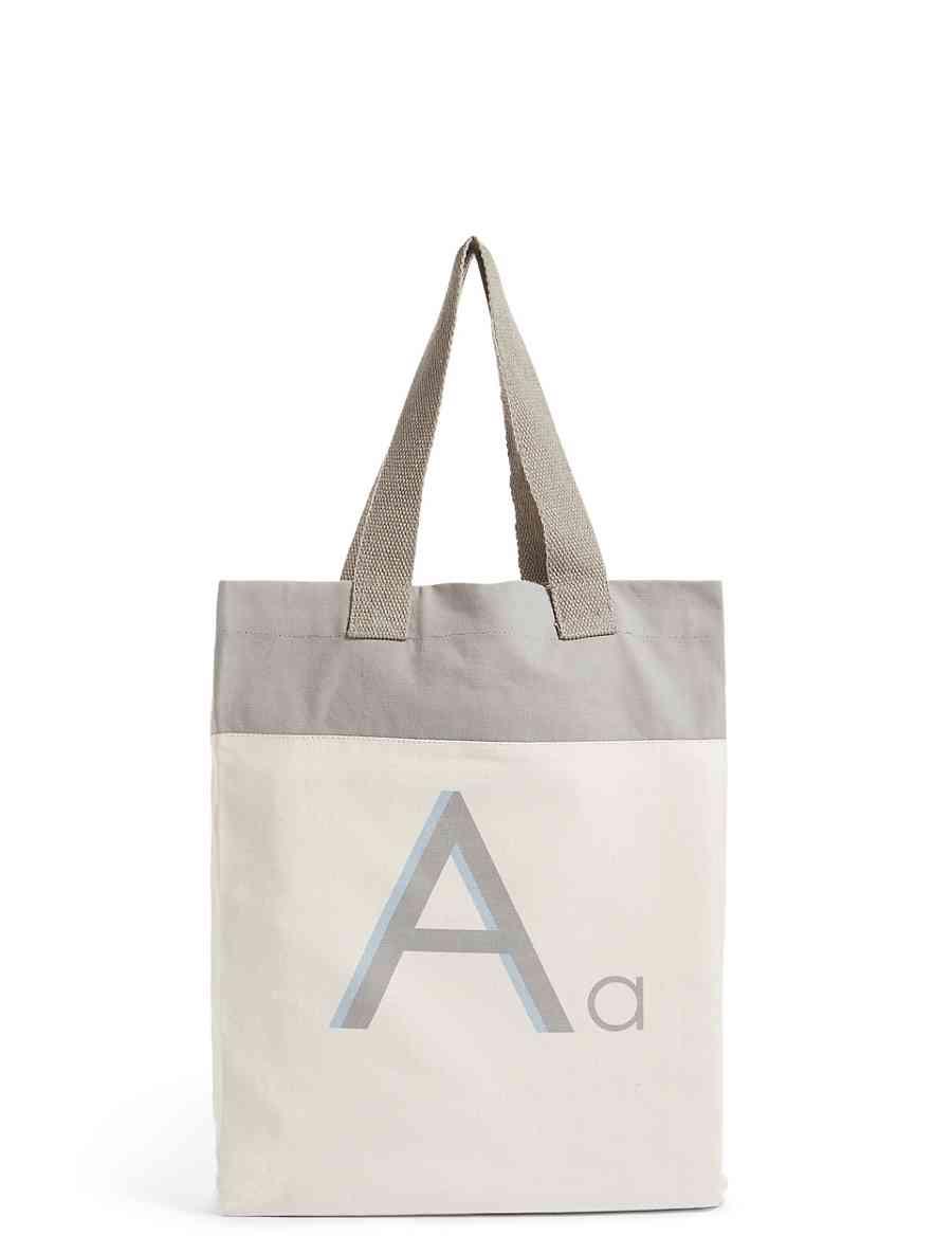 28363cf308400 Alphabet Tote Bag