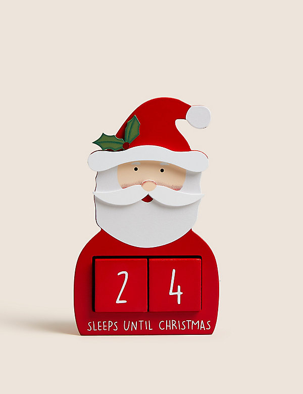 Διακοσμητικό ημερολόγιο αντίστροφης μέτρησης μέχρι τα Χριστούγεννα