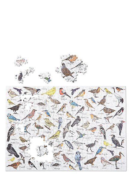 Birds 500 Piece Jigsaw Puzzle