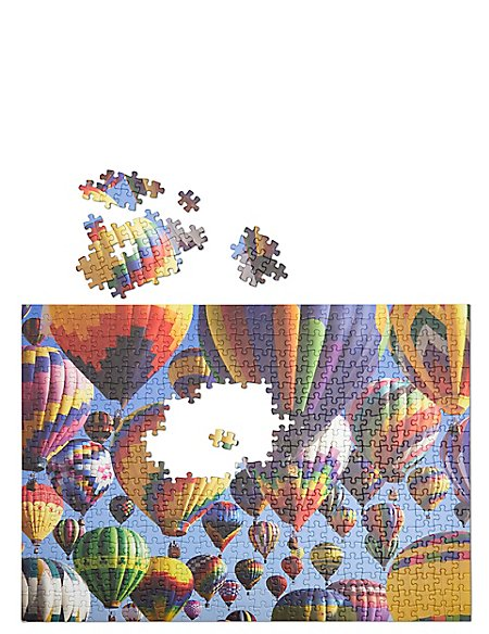 Hot Air Balloons 500 Piece Puzzle